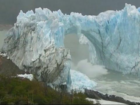 Spectacular Ice Bridge Collapse In Argentina