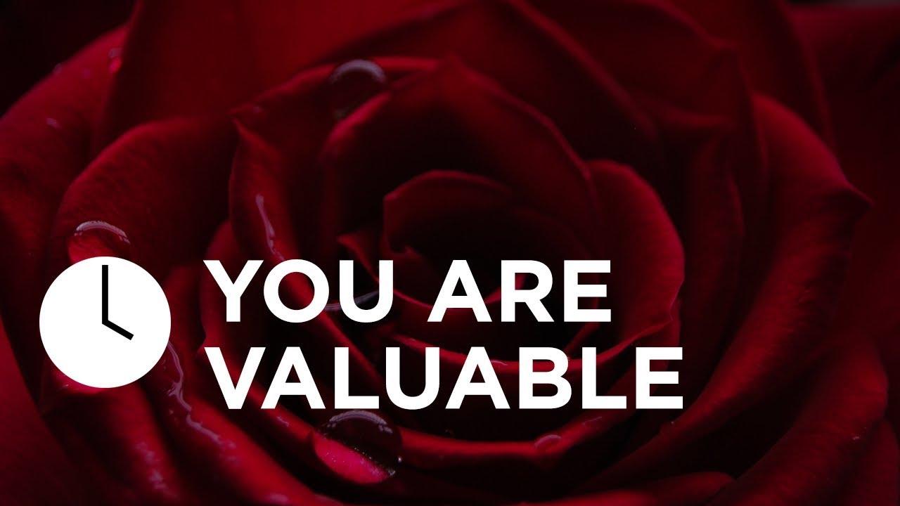You are Valuable   Joyce Meyer