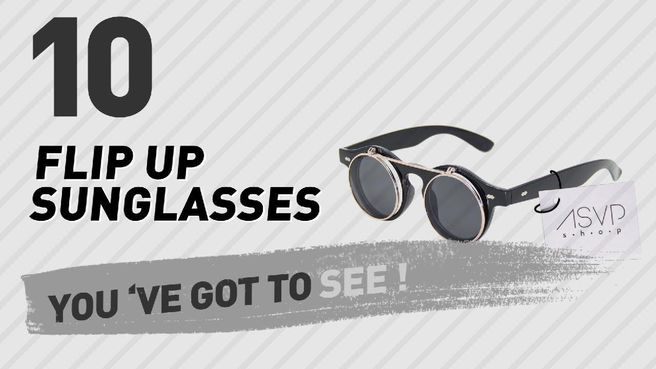 298cf2f10a8 Flip Up Sunglasses For Women    New   Popular 2017 - YouTube