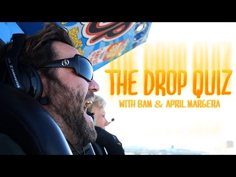Camp Out for Hunger Games: Bam & April Margera Drop Quiz - Preston & Steve's Daily Rush
