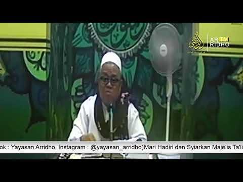 [LIVE] Kajian Mingguan Majelis Ta'lim Yayasan Arridho   Al Ustadz H.Makmun,S.Ag (14 September 2019)