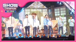 Download (Showchampion behind EP.2) BTOB Changsub wrong pitch out of tune Mp3