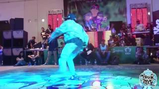 ZOELY VS LOLO EL PASTEL BGIRL BATTLE 2016