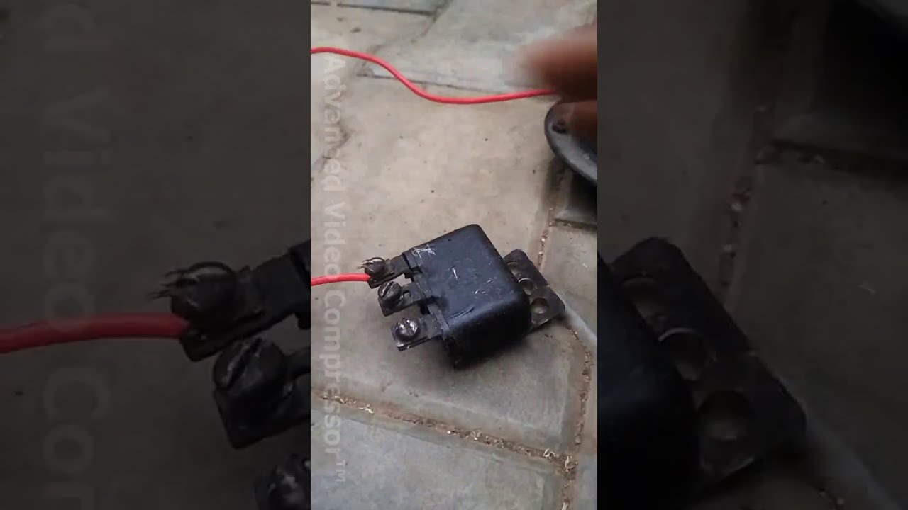 How To Connect 3 Pin Horn Relay In Car   Learn Tec Please