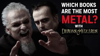 Demons & Wizards: Which Books Are the Most Metal?
