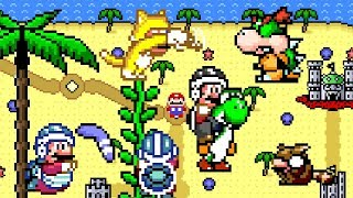 Mario Saves South Padre Island • Good Super Mario World ROM Hack