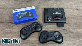 8Bitdo M30 2.4g - SEGA Mega Drive геймпад (SEGA, PC, Switch) - Обзор