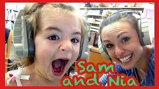 Sam and Nia; Girls vs. Boys Day.