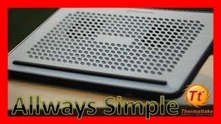 thermaltake Allways Simple Laptop cooler review