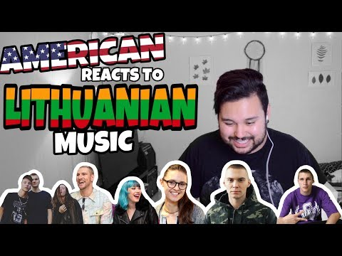 American REACTS // Lithuanian Music