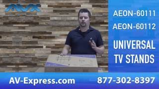 How to Assemble Universal TV Stand AEON 60111 and 60112