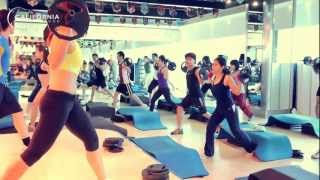 Lesmills Re-Launch - Body Pump 82 at California Fitness & Yoga Centers