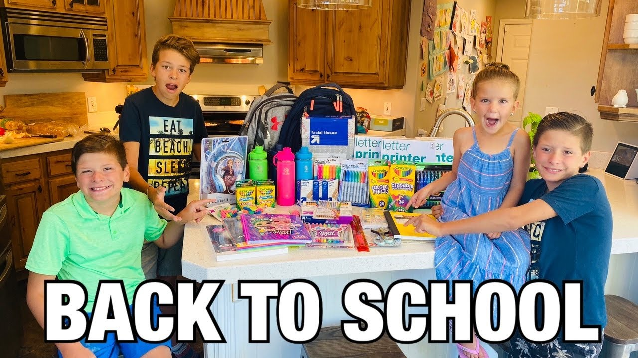 BACK TO SCHOOL SUPPLY SHOPPING AT TARGET | WILL THEY EVER GO BACK TO SCHOOL?