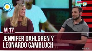 Jennifer Dahlgren y Leonardo Gambluch en Maratón 2017 (1 de 2)