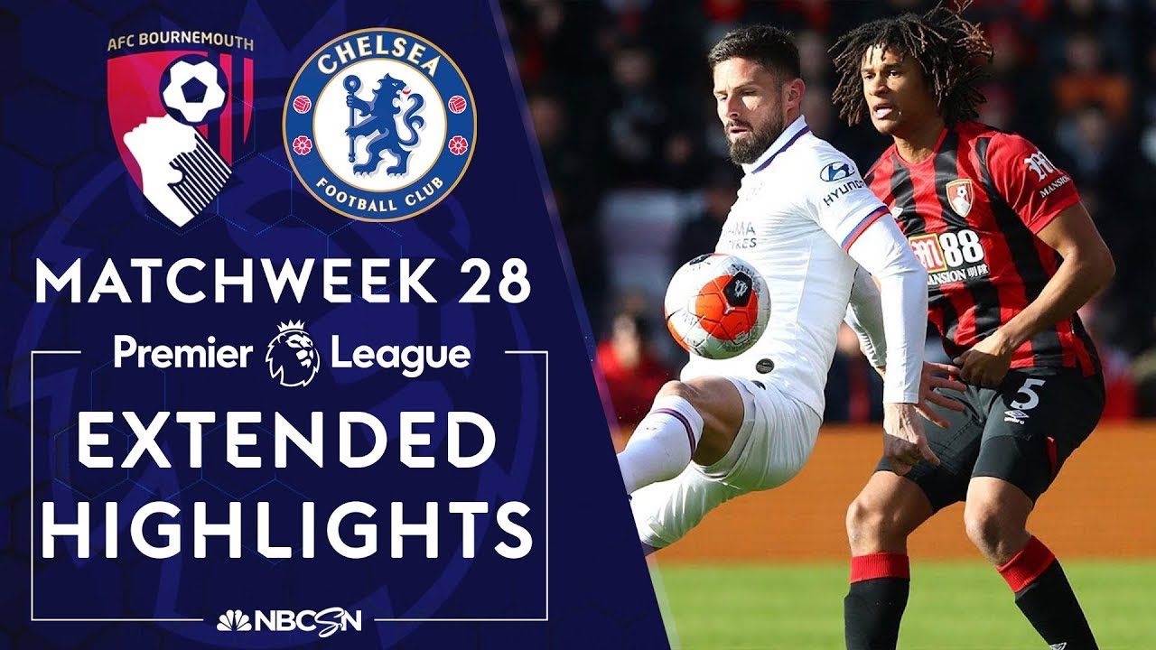 Bournemouth v. Chelsea | PREMIER LEAGUE HIGHLIGHTS | 2/29/2020 | NBC Sports