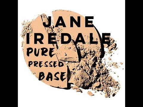 JANE IREDALE PUREPRESSED BASE MINERAL FOUNDATION REVIEW