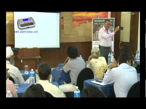 Wolfgang Jaksch Lecture On Energy Medicine In New Delhi (India)