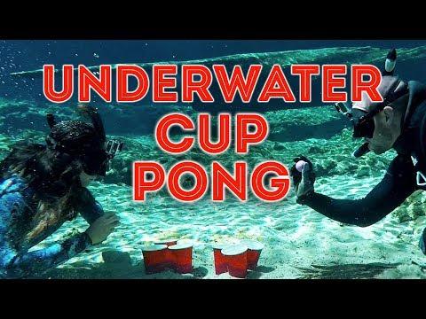 Underwater Cup Pong with Jiggin' With Jordan| Salt Life