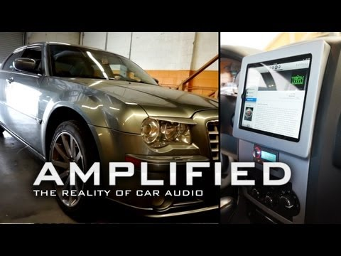 Amplified - Chrysler 300 SRT8 iPad install with Audison Voce Bit Ten D system
