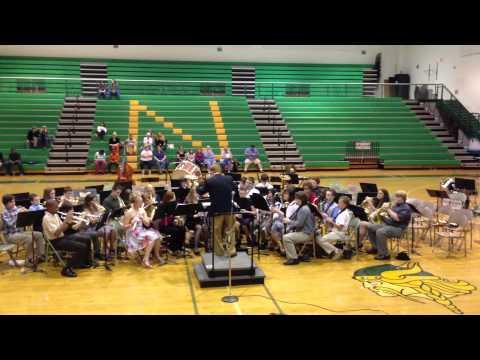 Northside Middle School Band Roanoke, Virginia Plays 'Russian Sailor's Dance'