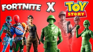 NEW SKINS AND BAILES FILTERED FROM Patch 9.20 (Fortnite x Toy Story)