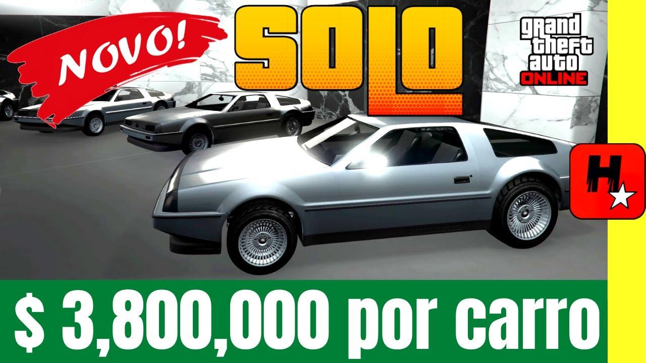 GLITCH DE DINHEIRO SOLO GTA 5 Online $ 3,8 MILHÕES CADA CARRO - GTA V MONEY GLITCH DUPLICAR MASSIVO