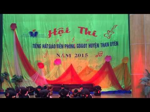 Hội thi tiếng hát giáo viên cụm trường xã Tà Mung 2015