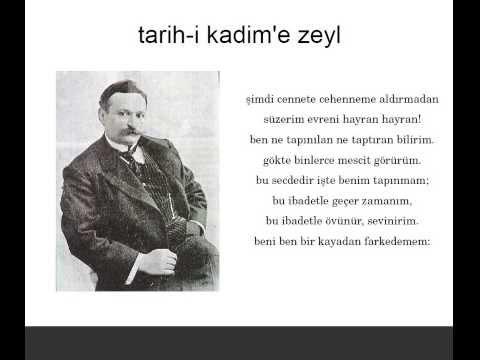 Din hakkında Tevfik Fikret'in Mehmet Akif'e cevabı