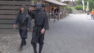 【4K】Videowalk in Edo Wonderland. Samurais and Ninjas.