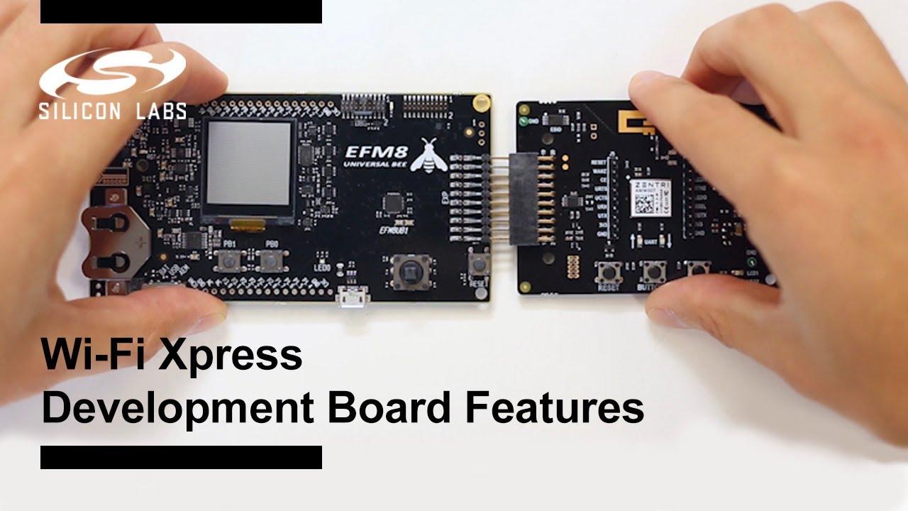 Wi-Fi Xpress Development Board - Features