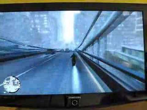 GTA IV Motorcycle Stunts And Crashes