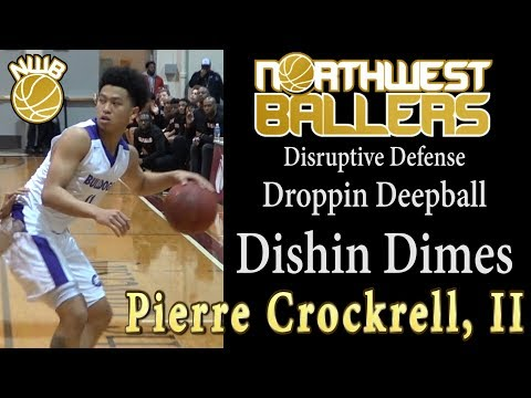 Pierre Crockrell, II  23-pt, 12ast game in Metro League playoff 2/7/2018