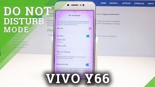 How to Enable Do Not Disturb Mode in VIVO Y66 - Silent Mode Activation