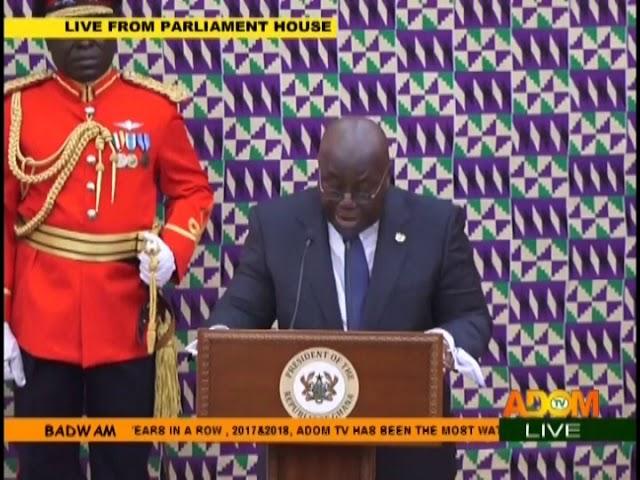 #SONA2019: President Akufo-Addo Delivers Speech - Badwam on Adom TV (21-2-19)