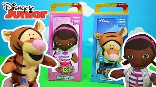 Disney Doc Mcstuffins and Tigger Pooh Toy Factory Stuff & Play | Kids Play O'clock