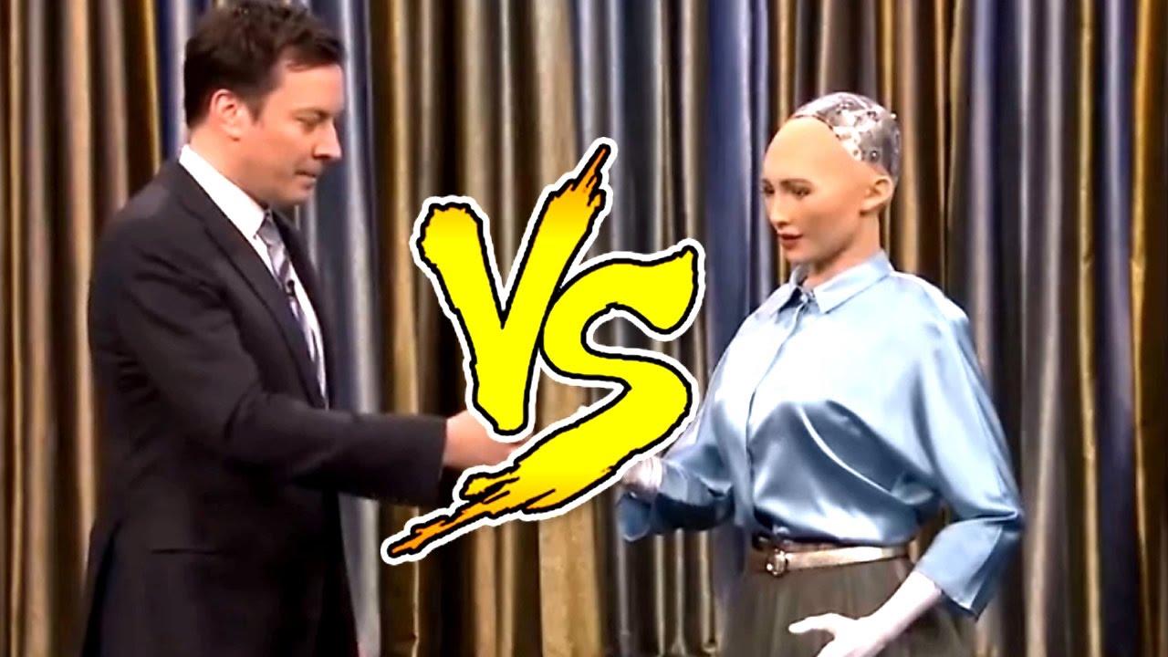 Robô Sophia diz mais uma vez que vai dominar a Raça Humana em uma entrevista!