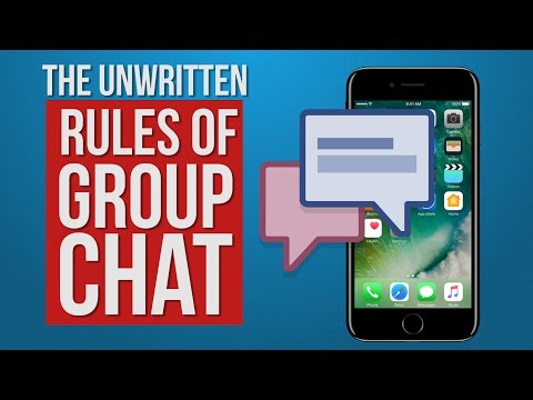 The Rules of Group Chat