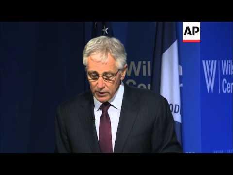 "Defence secretary says Europe faces ""bracing new realities"""