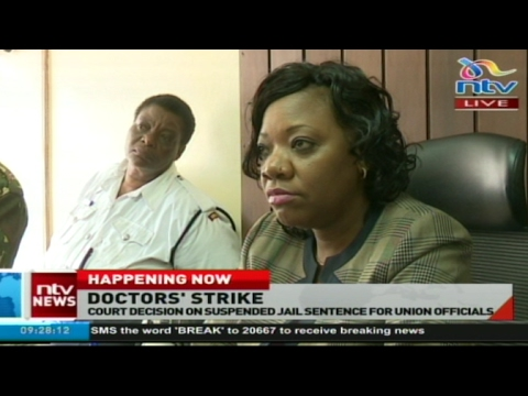 #HealthCrisis: KMPDU officials in court for ruling