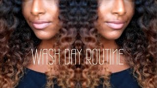 Natural Hair WASH DAY ROUTINE Ft. OGX| NaturalNeiicey