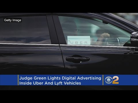 Judge: Ads OK'ed For Uber, Lyft Vehicles In New York City