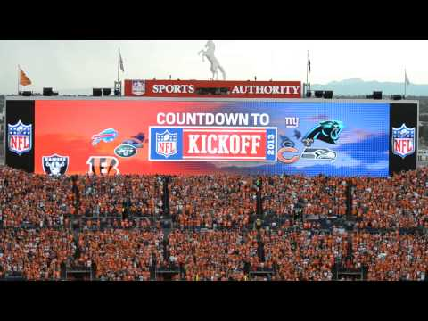 NFL Countdown to Kickoff 2013 Denver 9-5-13