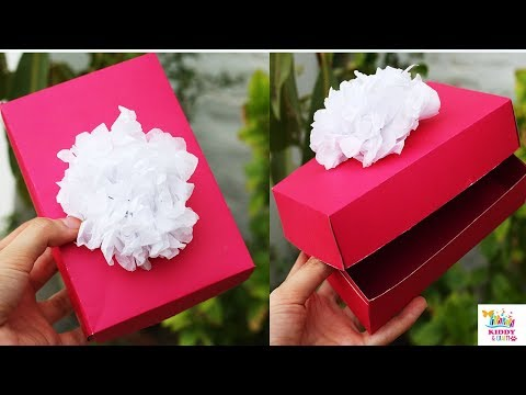 origami paper box- Paper Box Without Glue