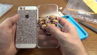 Распаковка посылки с чехлами для iphone 5C и sony xperia Z3 compact
