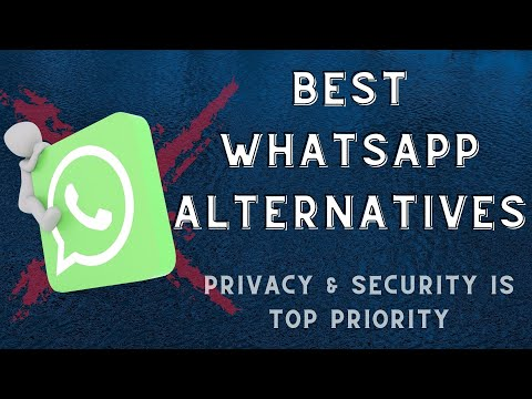 4 Best WhatsApp Alternatives in 2021 | No Logs or Data Collection