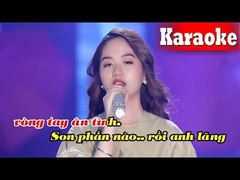 Mưa Trên Biển Vắng (Karaoke Beat) - Tone Nữ | Nhạc Trữ Tình Karaoke Beat Chuẩn (Full HD)