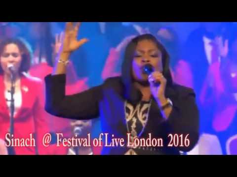 Sinach With Pastor G.O Adeboye@ Festival of Live London singing miracle worker promise keeper
