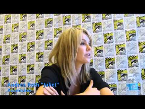 """SDCC 2014: Andrea Roth """"Juliet"""" from Ascension"""