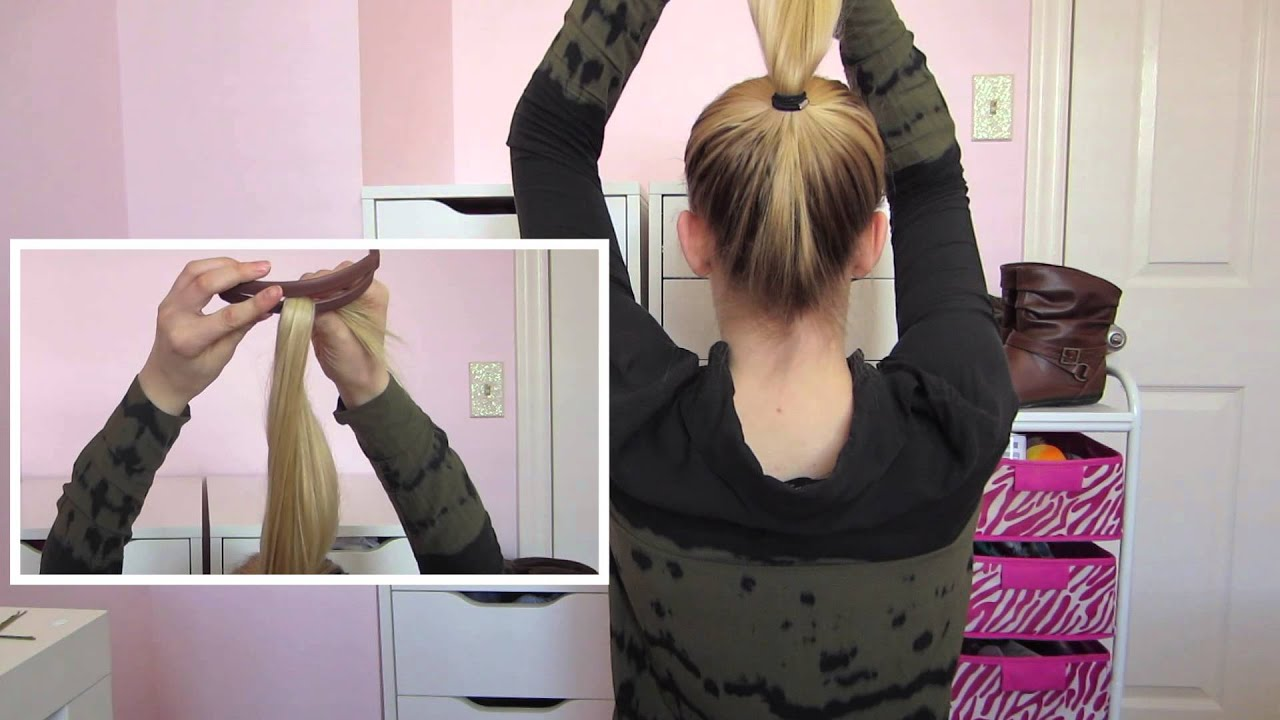 DIY Easy BUN for THIN Hair