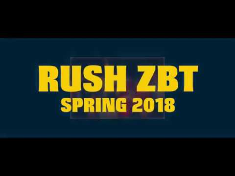 Official ZBT Spring 2018 Rush Video